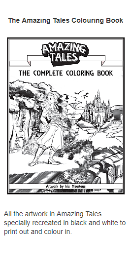 The Amazing Tales Colouring Book
