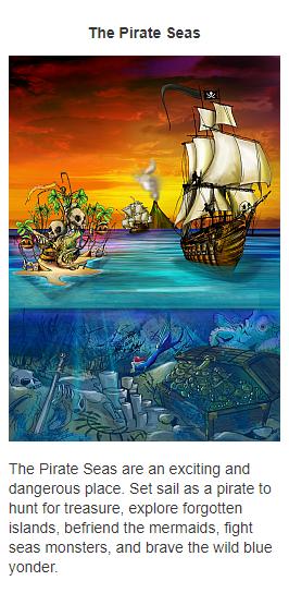 The Pirate Seas